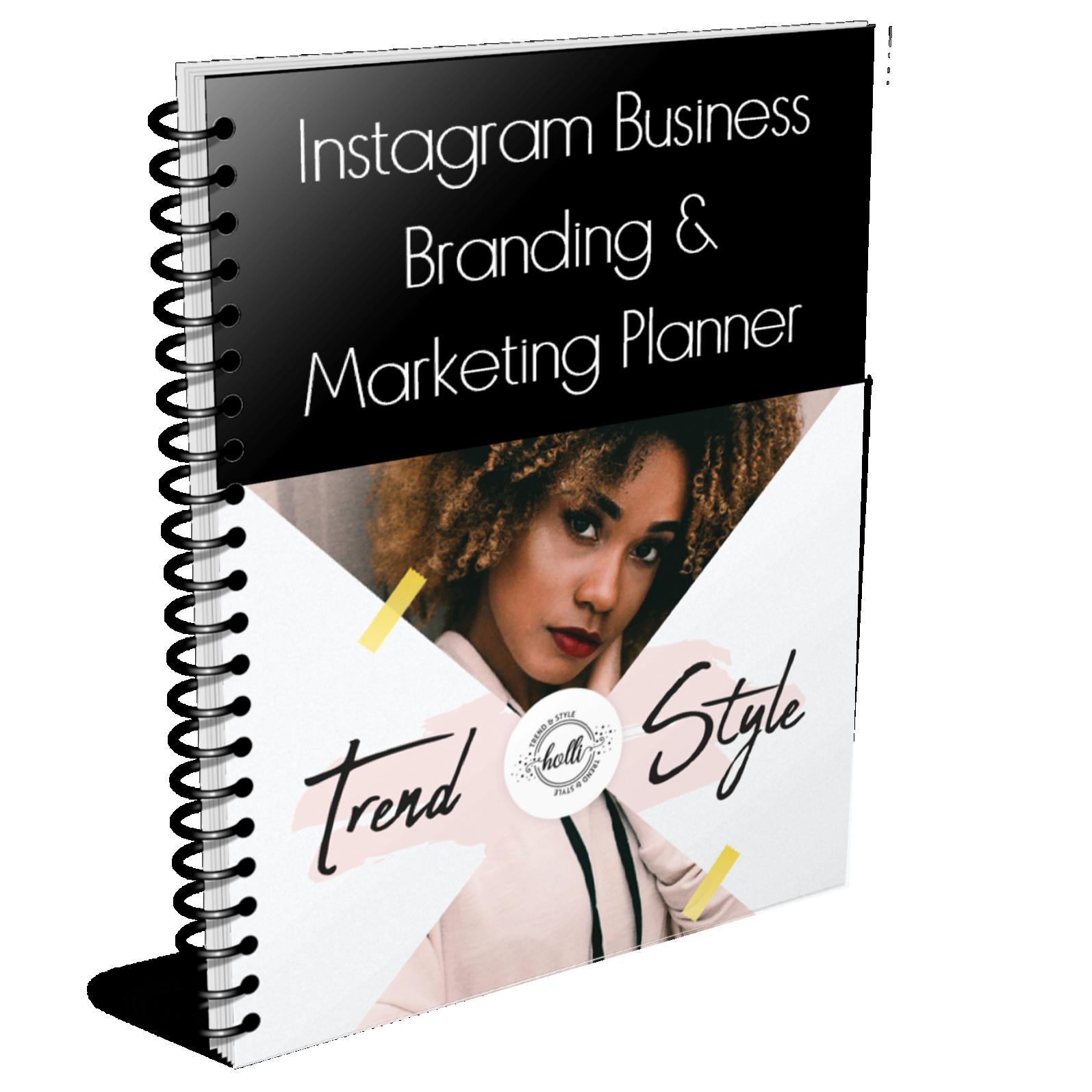 Instagram Business Branding & Marketing Planner