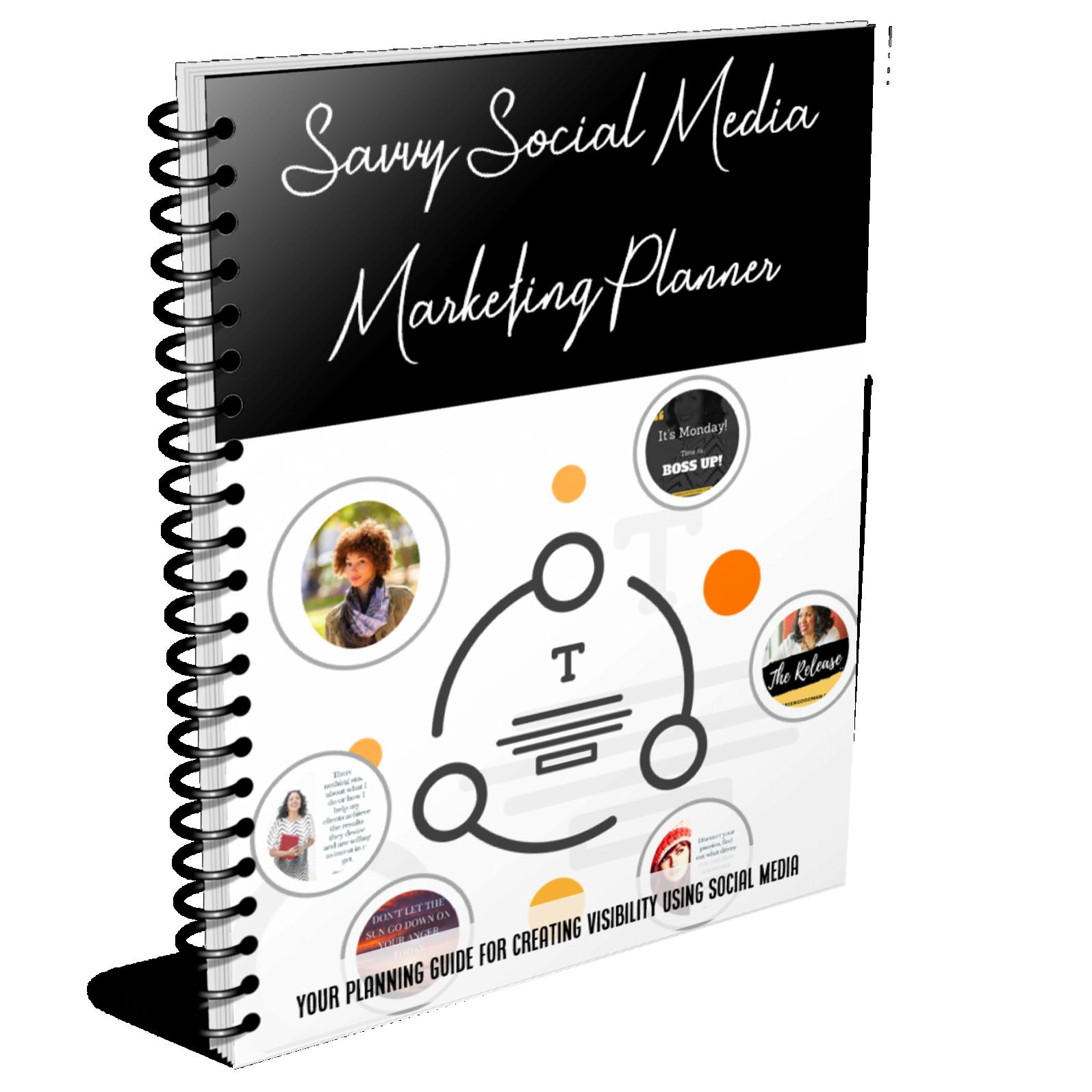 Savvy Social Media Marketing Planner